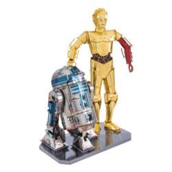 R2-D2 & C-3PO Sci-fi Metal Puzzles