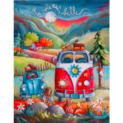 La Vie Est Belle Landscape Jigsaw Puzzle