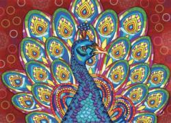Royal Peacock Birds Jigsaw Puzzle