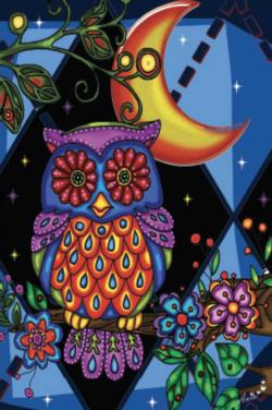 Owl (Mini) Night Miniature Puzzle