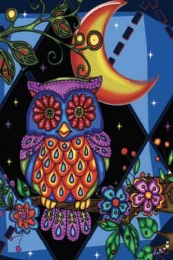 Owl (Mini) Night Miniature Puzzle