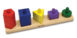 Stack & Sort Board Toy