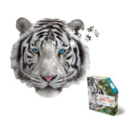 Madd Capp Mini Puzzle - I AM White Tiger Cats Jigsaw Puzzle