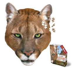 Madd Capp Mini Puzzle - I AM Cougar Cats Jigsaw Puzzle