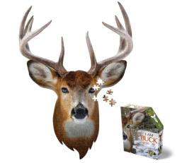 Madd Capp Mini Puzzle - I AM Buck Animals Miniature Puzzle
