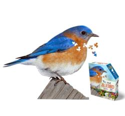 I AM Bluebird Birds Jigsaw Puzzle
