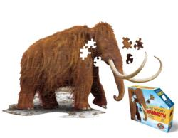 I AM Woolly Mammoth Animals Miniature Puzzle