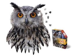 I Am Owl - Scratch and Dent Owl Jigsaw Puzzle