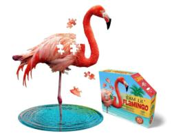 I Am Lil' Flamingo Birds Children's Puzzles