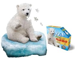 I Am Lil' Polar Bear Bears Children's Puzzles