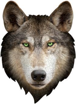 I Am Wolf Animals Children's Puzzles