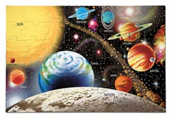Solar System - Scratch and Dent Space Jigsaw Puzzle