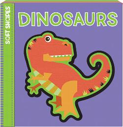 Dinosaurs (Soft Puzzle Book) Educational Activity Books and Stickers