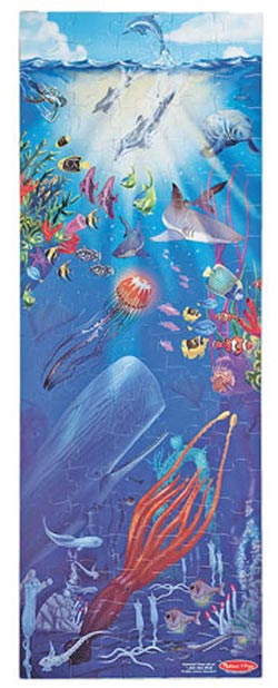 Under the SeaFloor Dolphins Children's Puzzles