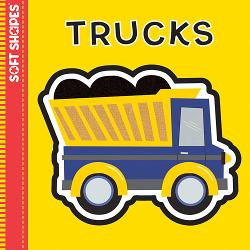 Trucks (Soft Puzzle Book) Construction Activity Books and Stickers