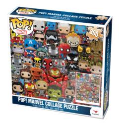 Pop! Marvel Collage Puzzle Super-heroes Jigsaw Puzzle