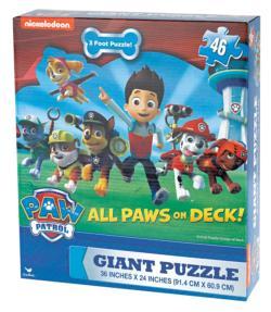 Paw Patrol Movies / Books / TV Children's Puzzles