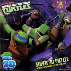 Teenage Mutant Ninja Turtles 3D Puzzle