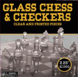 Glass Chess & Checkers