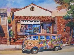 The Love Bus (California Dreams) Nostalgic / Retro Jigsaw Puzzle