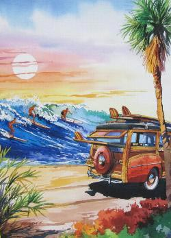Endless Summer (California Dreams) Sunrise/Sunset Jigsaw Puzzle