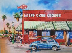 The Crab Cooker (California Dreams) Nostalgic / Retro Jigsaw Puzzle