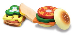 Sandwich Making Set Food and Drink Pretend Play