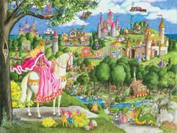Once Upon A Time Princess Jigsaw Puzzle