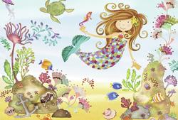 Junior Mermaid Mermaids Jigsaw Puzzle