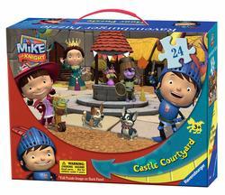Castle Courtyard Suitcase Floor Puzzle Cartoons Children's Puzzles