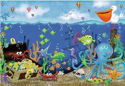 Underwater Treasure Fish Children's Puzzles