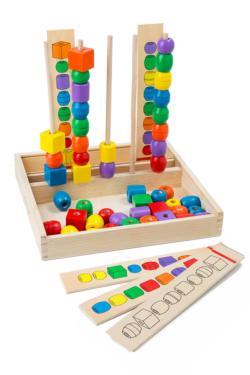 Bead Sequencing Set Dexterity Toy