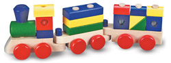 Stacking Train Toy