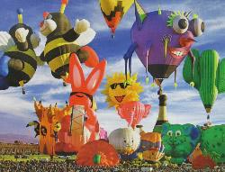 Funky Balloons (Balloons Galore) Photography Jigsaw Puzzle