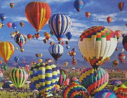 Fun in the Air (Balloons Galore) Photography Jigsaw Puzzle