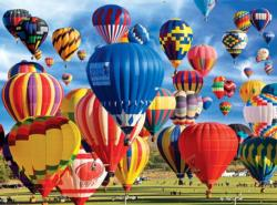 Up, Up and Away (Balloons Galore) Balloons Jigsaw Puzzle