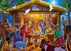 Star of Bethlehem Christmas Jigsaw Puzzle