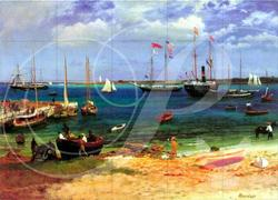 Nassau Port Boats Wooden Jigsaw Puzzle