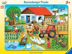 Where to Put it Farm Children's Puzzles
