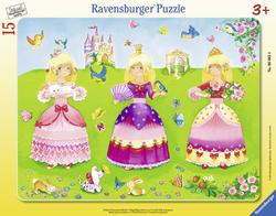 3 Pretty Princesses Princess Tray Puzzle
