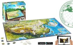 Ancient China (National Geographic) Asia 4D Puzzle