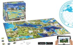 Ancient Greece Maps / Geography 4D Puzzle