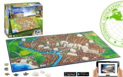 Ancient Rome (National Geographic) Europe 4D Puzzle