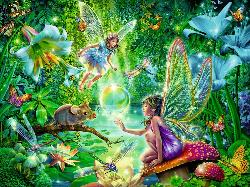 Fairy Magic Forest Jigsaw Puzzle