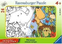 Wild Animals Other Animals Frame Puzzle