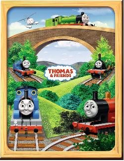 Thomas Photo Frame Trains Jigsaw Puzzle