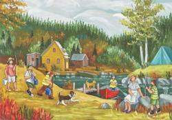 Summer Day Summer Jigsaw Puzzle