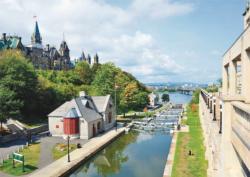 Rideau Canal, Ottawa Canada Jigsaw Puzzle