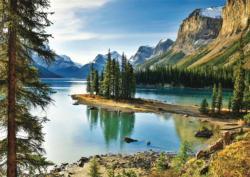 Spirit Island, Jasper Canada Jigsaw Puzzle