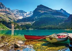 B.C. Lake O'Hara Lakes / Rivers / Streams Jigsaw Puzzle